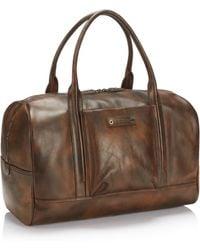 BOSS Orange - Weekender   Leather Travel Bag - Lyst