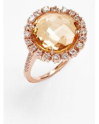KALAN by Suzanne Kalan - Round Sapphire Bezel Ring - Lyst
