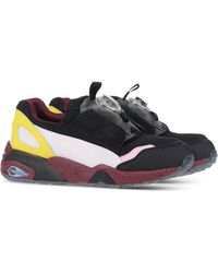 Alexander McQueen x Puma | Disc Blazer Laceless Leather Low-Top Sneakers | Lyst