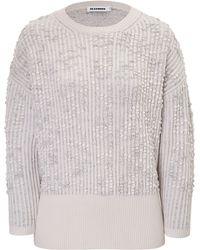 Jil Sander Cashmere Mix Sweatshirt - Lyst