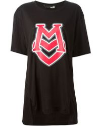 Love Moschino Oversized Printed T-Shirt - Lyst