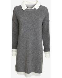 Brochu Walker Exclusive Blouse Sweater Dress - Lyst