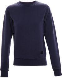 Acne Studios Cotton Sweatshirt - Lyst