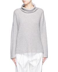 The Row | 'kaima' Cashmere-silk Turtleneck Sweater | Lyst