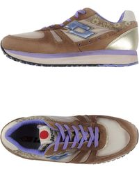 Lotto Leggenda Low-Tops & Trainers beige - Lyst