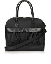 Topshop Snake Patch Pocket Luggage Bag - Lyst
