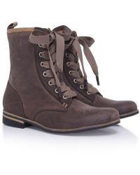 J SHOES - Empress Lace Up Boots - Lyst