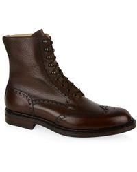Crockett & Jones Islay Grain Dainite Boot - Lyst
