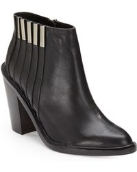L.A.M.B. - Todd Leather Ankle Boots - Lyst