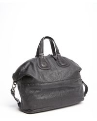 Givenchy Black Leather Nightingale Large Convertible Bag - Lyst