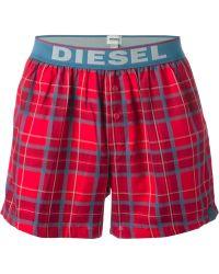 Diesel Red Umbxluv Boxers - Lyst