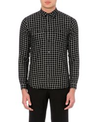 Sandro Shelley Cotton Shirt - Lyst