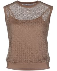Dior Sleeveless Sweater - Lyst