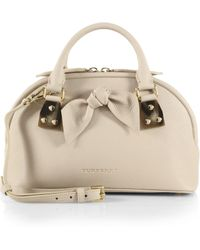 Burberry Small Bloomsbury Satchel - Lyst