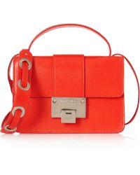 Jimmy Choo Rebel Leather Shoulder Bag - Lyst