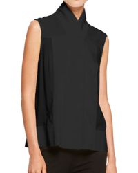 Donna Karan New York Sleeveless Collage Tunic - Lyst