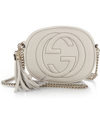 Gucci Soho Leather Mini Chain Bag - Lyst