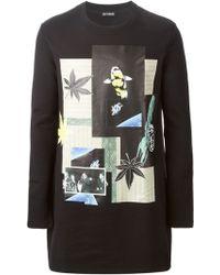 Raf Simons Digitally Printed Sweatshirt - Lyst
