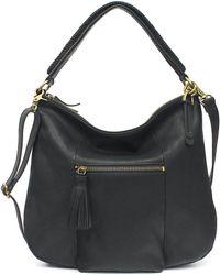 Lucky Brand - Harper Leather Crossbody Hobo Bag - Lyst