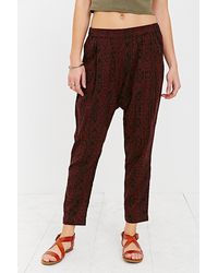 BDG Printed Porter Ankle Pant - Lyst