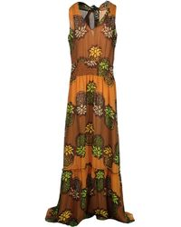 Moschino Cheap & Chic Long Dress - Lyst