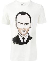 One T Shirt - Tom Ford Printed Tshirt - Lyst