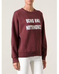 Each x Other - Slogan Print Sweatshirt - Lyst