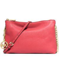MICHAEL Michael Kors Leather Shoulder Bag - Lyst