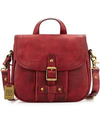 Frye Parker Leather Crossbody Bag - Lyst