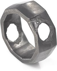 Smith/grey - Via Napoli Silver Ring - Lyst