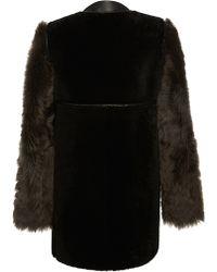 Marni Shearling Jacket - Lyst