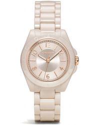 COACH - Tristen Ceramic Bracelet Watch - Lyst