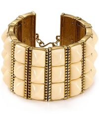 House Of Harlow Sugarloaf Bars Bracelet - Lyst