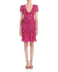 Diane von Furstenberg | Layton Wrap Dress | Lyst