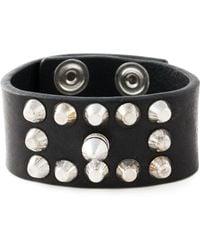 Diesel Black 'Acowy' Bracelet - Lyst