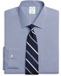 Brooks Brothers Non-Iron Milano Fit Houndstooth Dress Shirt - Lyst