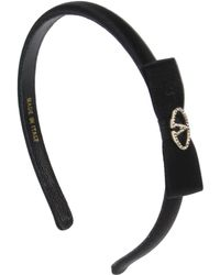 Valentino Black Hair Accessory - Lyst