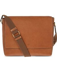 Mulberry Maxwell Classic Grain Leather Messenger - For Men - Lyst