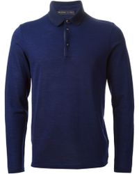 Etro Polo Neck Sweater - Lyst