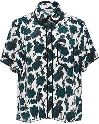 WHIT | Sam Rose Print Shirt | Lyst