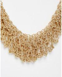 Coast - Gold Sparkle Chain Necklace - Lyst