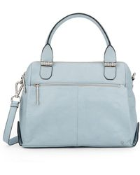 Elliott Lucca - Met Leather Satchel - Lyst