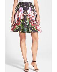 Ted Baker Women'S 'Hotley' Tropical Print Skirt - Lyst