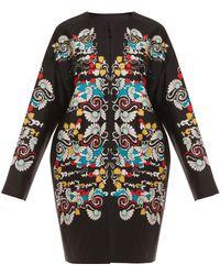 Diane Von Furstenberg Detail Coat - Lyst