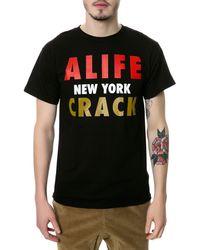 Alife The Crack Tee - Lyst