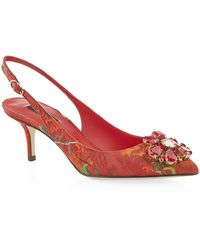Dolce & Gabbana Cannoli Slingback - Lyst