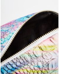 Jaded London | Holographic Print Make-up Bag | Lyst