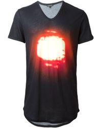 Ann Demeulemeester Sun Print T-shirt - Lyst