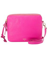 Fossil - Sydney Crossbody Leather Bag - Lyst