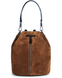 Elizabeth and James - Cynnie Suede Backpack - Lyst